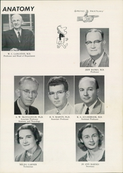 Page 17, 1957 Edition, University of Arkansas for Medical Sciences - Caduceus Yearbook (Little Rock, AR) online yearbook collection