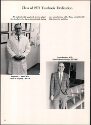 Page 8, 1971 Edition, University of Arkansas for Medical Sciences - Caduceus Yearbook (Little Rock, AR) online yearbook collection