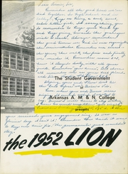 Page 7, 1952 Edition, University of Arkansas at Pine Bluff - Golden Lion Yearbook (Pine Bluff, AR) online yearbook collection