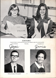 Page 7, 1970 Edition, Jefferson Avenue Junior High School - Piggy Yearbook (Texarkana, AR) online yearbook collection