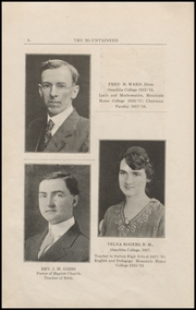 Page 10, 1919 Edition, Mountain Home College - Mountaineer Yearbook (Mountain Home, AR) online yearbook collection