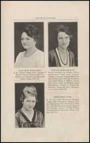Page 11, 1919 Edition, Mountain Home College - Mountaineer Yearbook (Mountain Home, AR) online yearbook collection