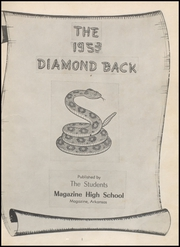Page 5, 1953 Edition, Magazine High School - Diamond Back Yearbook (Magazine, AR) online yearbook collection