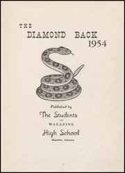 Page 7, 1954 Edition, Magazine High School - Diamond Back Yearbook (Magazine, AR) online yearbook collection