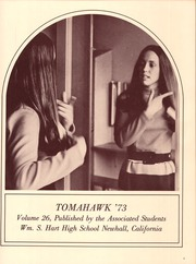 Page 5, 1973 Edition, William S Hart High School - Tomahawk Yearbook (Newhall, CA) online yearbook collection