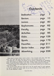 Page 9, 1967 Edition, Lake Highlands High School - Wildcat Yearbook (Dallas, TX) online yearbook collection