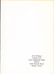 Page 5, 1972 Edition, Lake Highlands High School - Wildcat Yearbook (Dallas, TX) online yearbook collection
