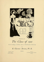 Page 2, 1901 Edition, Northwestern University - Syllabus Yearbook (Evanston, IL) online yearbook collection