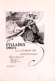 Page 4, 1904 Edition, Northwestern University - Syllabus Yearbook (Evanston, IL) online yearbook collection