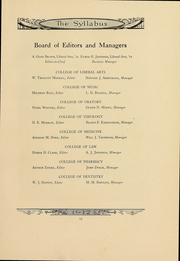 Page 11, 1912 Edition, Northwestern University - Syllabus Yearbook (Evanston, IL) online yearbook collection