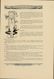 Page 13, 1912 Edition, Northwestern University - Syllabus Yearbook (Evanston, IL) online yearbook collection