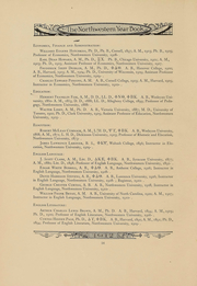 Page 14, 1912 Edition, Northwestern University - Syllabus Yearbook (Evanston, IL) online yearbook collection