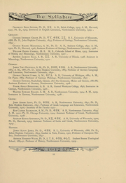 Page 15, 1912 Edition, Northwestern University - Syllabus Yearbook (Evanston, IL) online yearbook collection
