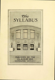 Page 4, 1912 Edition, Northwestern University - Syllabus Yearbook (Evanston, IL) online yearbook collection