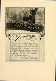 Page 9, 1912 Edition, Northwestern University - Syllabus Yearbook (Evanston, IL) online yearbook collection