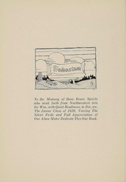 Page 6, 1920 Edition, Northwestern University - Syllabus Yearbook (Evanston, IL) online yearbook collection