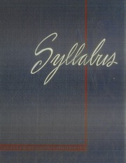 Page 1, 1939 Edition, Northwestern University - Syllabus Yearbook (Evanston, IL) online yearbook collection