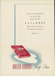 Page 6, 1939 Edition, Northwestern University - Syllabus Yearbook (Evanston, IL) online yearbook collection
