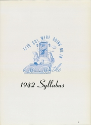 Page 7, 1942 Edition, Northwestern University - Syllabus Yearbook (Evanston, IL) online yearbook collection