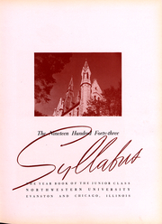 Page 6, 1943 Edition, Northwestern University - Syllabus Yearbook (Evanston, IL) online yearbook collection