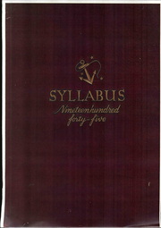 Northwestern University - Syllabus Yearbook (Evanston, IL) online yearbook collection, 1945 Edition, Page 1