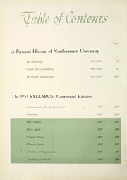 Page 12, 1951 Edition, Northwestern University - Syllabus Yearbook (Evanston, IL) online yearbook collection