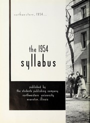 Page 6, 1954 Edition, Northwestern University - Syllabus Yearbook (Evanston, IL) online yearbook collection