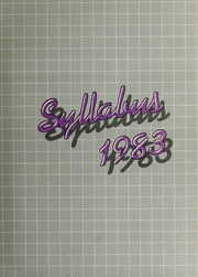 1983 Edition, Northwestern University - Syllabus Yearbook (Evanston, IL)