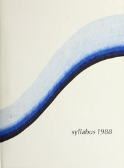 1988 Edition, Northwestern University - Syllabus Yearbook (Evanston, IL)