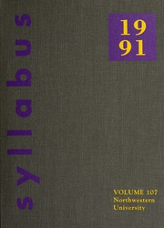 1991 Edition, Northwestern University - Syllabus Yearbook (Evanston, IL)