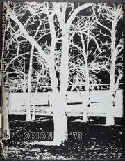 Page 1, 1973 Edition, Scarborough High School - Orion Yearbook (Houston, TX) online yearbook collection