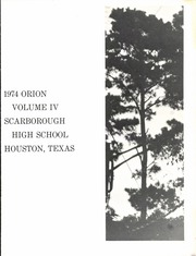 Page 5, 1974 Edition, Scarborough High School - Orion Yearbook (Houston, TX) online yearbook collection