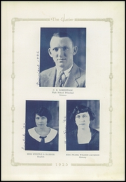 Page 15, 1925 Edition, Winters High School - Glacier Yearbook (Winters, TX) online yearbook collection