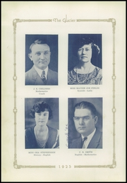 Page 16, 1925 Edition, Winters High School - Glacier Yearbook (Winters, TX) online yearbook collection