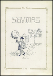 Page 17, 1925 Edition, Winters High School - Glacier Yearbook (Winters, TX) online yearbook collection