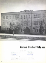 Page 6, 1964 Edition, Winters High School - Glacier Yearbook (Winters, TX) online yearbook collection