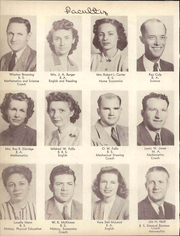 Page 16, 1947 Edition, Lamesa High School - Tornado Yearbook (Lamesa, TX) online yearbook collection