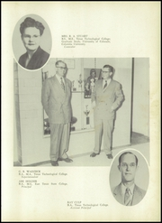 Page 11, 1952 Edition, Lamesa High School - Tornado Yearbook (Lamesa, TX) online yearbook collection