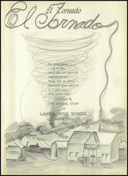 Page 7, 1952 Edition, Lamesa High School - Tornado Yearbook (Lamesa, TX) online yearbook collection