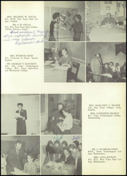 Page 23, 1956 Edition, Lamesa High School - Tornado Yearbook (Lamesa, TX) online yearbook collection