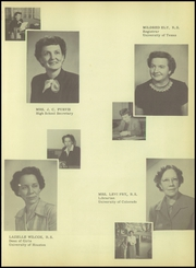 Page 13, 1951 Edition, Texas City High School - Stingaree Yearbook (Texas City, TX) online yearbook collection