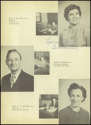 Page 14, 1951 Edition, Texas City High School - Stingaree Yearbook (Texas City, TX) online yearbook collection