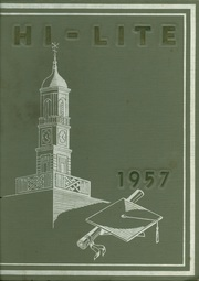 Charles F Brush High School - HiLite Yearbook (Lyndhurst, OH) online yearbook collection, 1957 Edition, Page 1