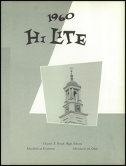 Page 5, 1960 Edition, Charles F Brush High School - HiLite Yearbook (Lyndhurst, OH) online yearbook collection
