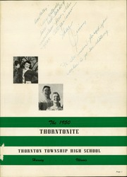 Page 5, 1950 Edition, Thornton Township High School - Thorntonite Yearbook (Harvey, IL) online yearbook collection