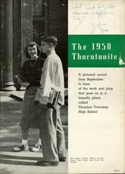 Page 7, 1950 Edition, Thornton Township High School - Thorntonite Yearbook (Harvey, IL) online yearbook collection