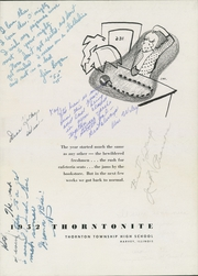 Page 7, 1952 Edition, Thornton Township High School - Thorntonite Yearbook (Harvey, IL) online yearbook collection