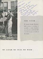 Page 9, 1952 Edition, Thornton Township High School - Thorntonite Yearbook (Harvey, IL) online yearbook collection
