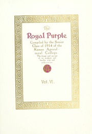 Page 11, 1914 Edition, Kansas State University - Royal Purple Yearbook (Manhattan, KS) online yearbook collection