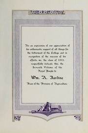 Page 11, 1915 Edition, Kansas State University - Royal Purple Yearbook (Manhattan, KS) online yearbook collection